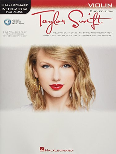 9781617805783: Taylor Swift: Violin Play-Along Book with Online Audio (Instrumental Play-Along)
