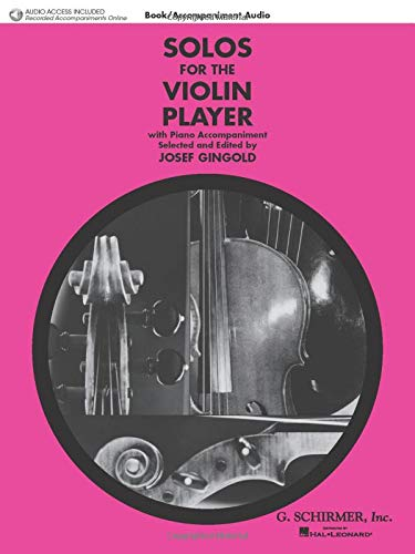 Solos for the Violin Player: Violin and: Gingold, Josef