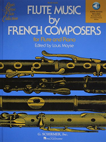 9781617806322: Flute Music By French Composers with online audio