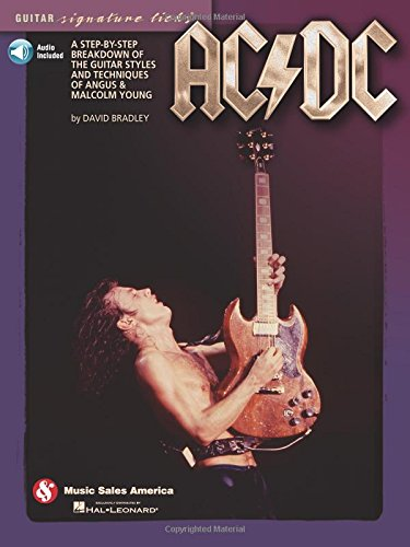 AC/DC-Guitar Signature Licks (Book/CD): Bradley, David, AC/DC,