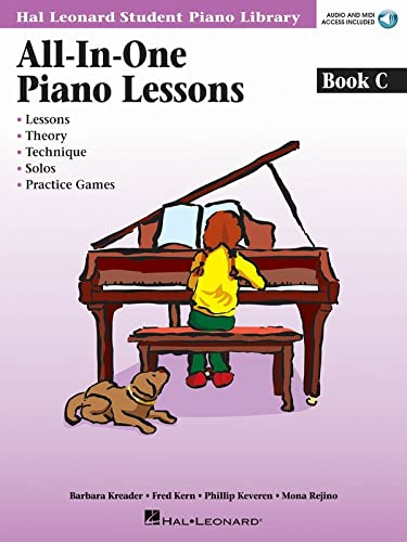 All-In-One Piano Lessons, Book C [With CD (Audio)] (Hal Leonard Student Piano Library (Songbooks)):...