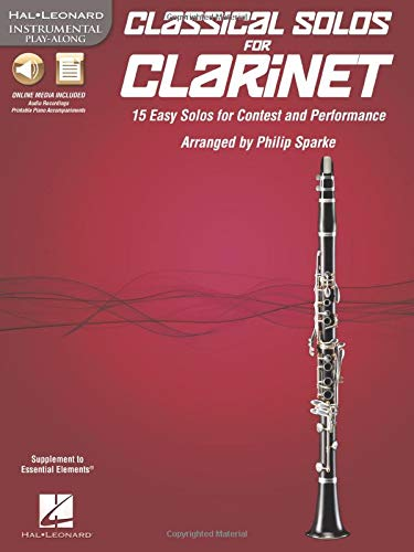 9781617806971: Classical Solos For B-Flat Clarinet Bk/Cd-Rom (Hal Leonard Instumental Play-Along)