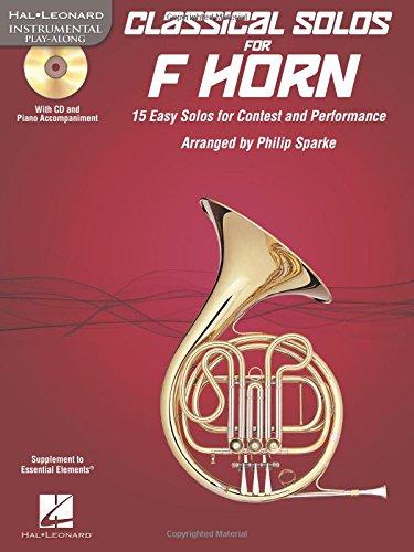 Classical Solos For F Horn Bk/Cd-Rom (Hal Leonard Instumental Play-Along): Philip Sparke