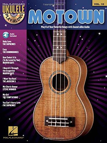 Motown - Ukulele Play-Along Vol. 10 (Book/CD): Hal Leonard Corp.