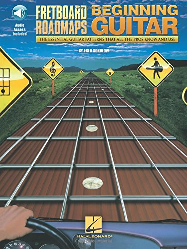 9781617807817: Fred Sokolow: Fretboard Roadmaps For The Beginning Guitarist (Book/Online Audio)