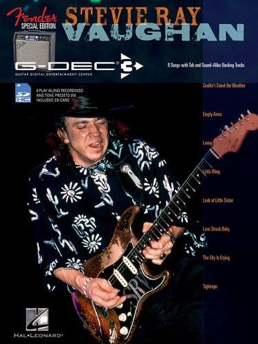 9781617808609: Fender G-Dec Edition Stevie Ray Vaughan Play-Along Smartcard/Bk (Guitar Play-along)