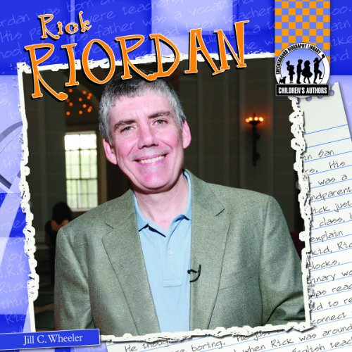 9781617835780: Rick Riordan (Children's Authors)