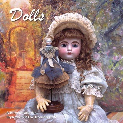 9781617913921: Dolls Calendar - 2015 Wall calendars - Monthly Wall Calendar by Magnum