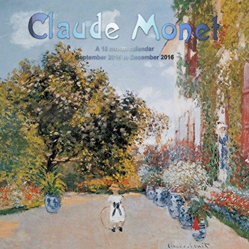 9781617914997: Claude Monet Calendrier Calendar 2016