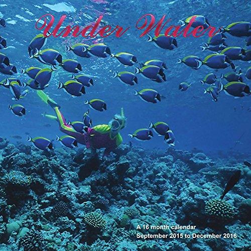 9781617915147: Under Water Calendar - Fish Calendar - Sea life Calendar - 2016 Wall calendars - Monthly Wall Calendar by Magnum