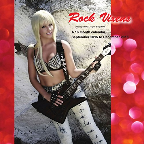 9781617916229: Rock Vixens Calendar - 2016 Wall calendars - Pin up Girl Calendar - Sexy Calendar - Monthly Wall Calendar by Magnum