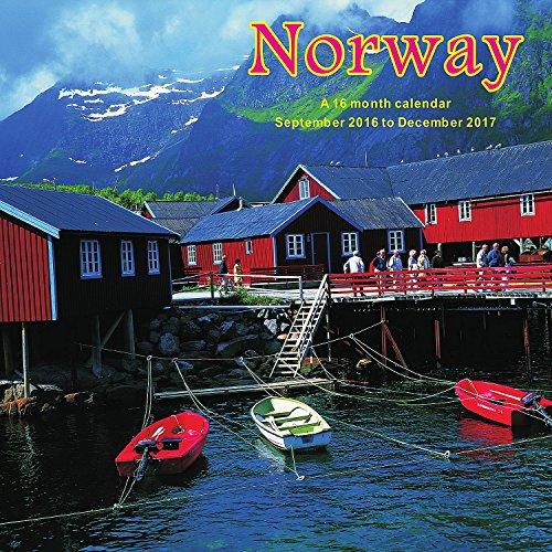 9781617916410: Norway Calendar - 2017 Wall Calendars - Calendar 2016 - Travel Calendar - Monthly Wall Calendar by Magnum