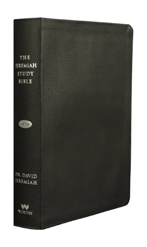 9781617952784: The Jeremiah Study Bible, NKJV: Black Leather
