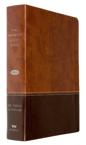 9781617952821: The Jeremiah Study Bible, NKJV: Dark & Medium Brown Leatherluxe: What It Says. What It Means. What It Means for You.