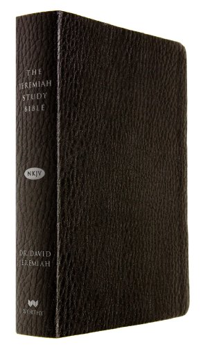 9781617952869: The Jeremiah Study Bible, NKJV: Black LeatherLuxe