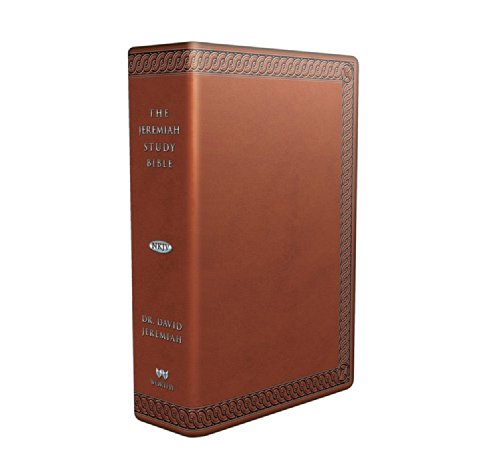 9781617954115: The Jeremiah Study Bible, NKJV: (Brown W/ Burnished Edges) Leatherluxe(r) w/thumb index: What It Says. What It Means. What It Means for You.