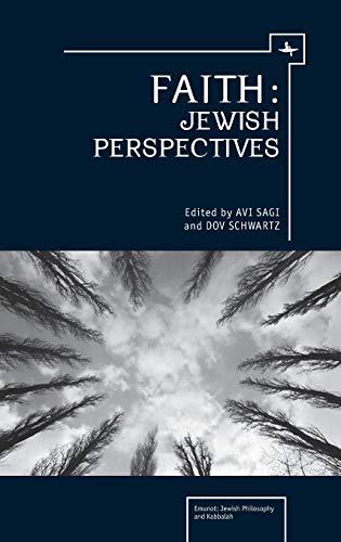 Faith: Jewish Perspectives (Emunot: Jewish Philosophy and Kabbalah): Schwartz, Dov; Sagi, Avi