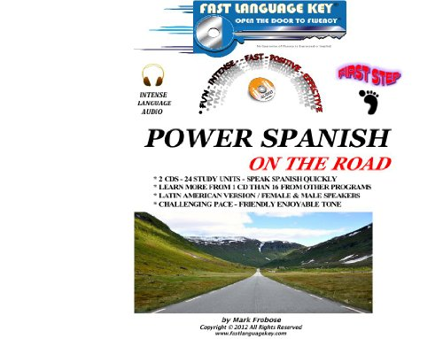 9781618160423: Power Spanish on the Road - First Step (English and Spanish Edition)