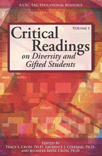 9781618210043: Critical Readings on Diversity and Gifted Students, Volume 1
