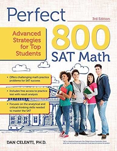 9781618216229: Perfect 800: SAT Math: Advanced Strategies for Top Students