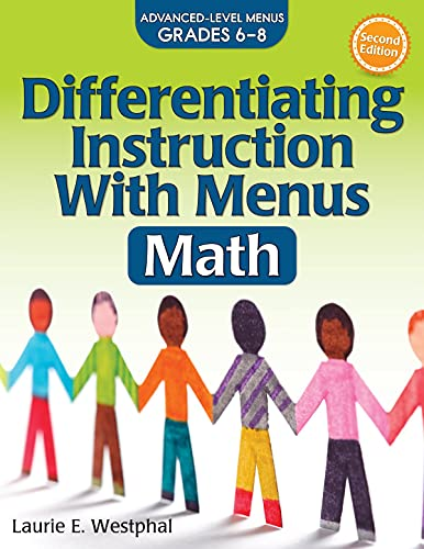 9781618216380: Differentiating Instruction with Menus: Math (Grades 6-8)