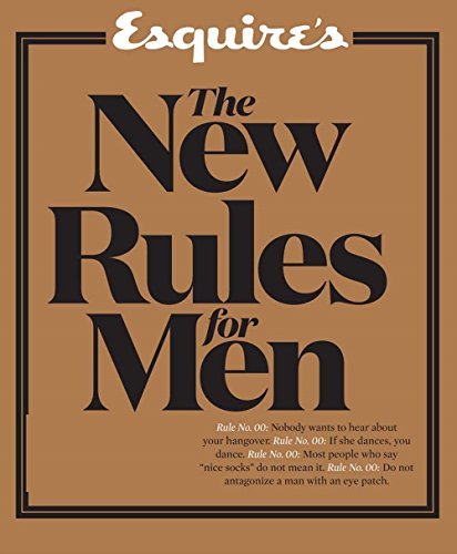 9781618371867: Esquire's The New Rules for Men