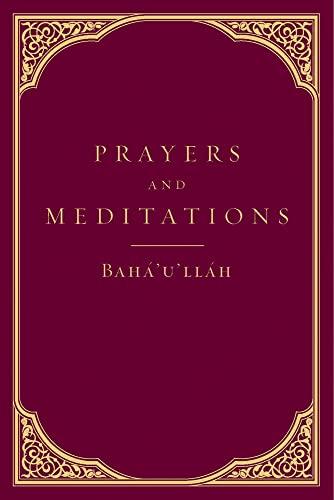 9781618510228: Prayers and Meditations