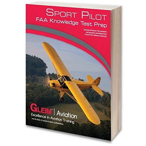 9781618541284: Gleim - Sport Pilot FAA Knowledge Test 2018 Edition