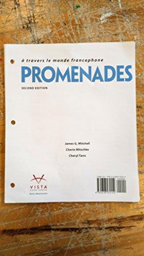 Promenades 2nd Loose-leaf Student Textbook ~ TEXT: Mitchell, James G.;