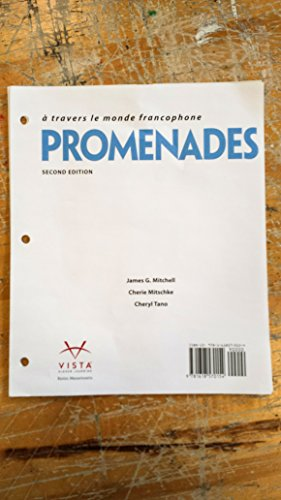 9781618570154: Promenades 2nd Loose-leaf Student Textbook ~ TEXT ONLY, NO CODE