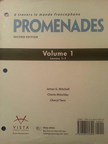 Promenades 2nd Edition (Loose Leaf) - Volume: Mitchell, James G;
