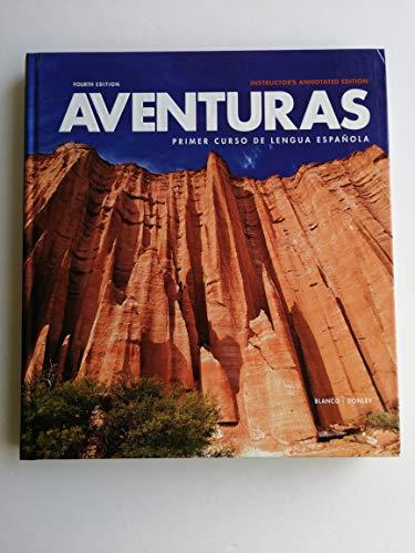 Aventuras. Primer Curso De Lengua Española. Instructor's
