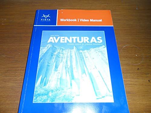 9781618570567: AVENTURAS-WORKBOOK/VIDEO MANUA