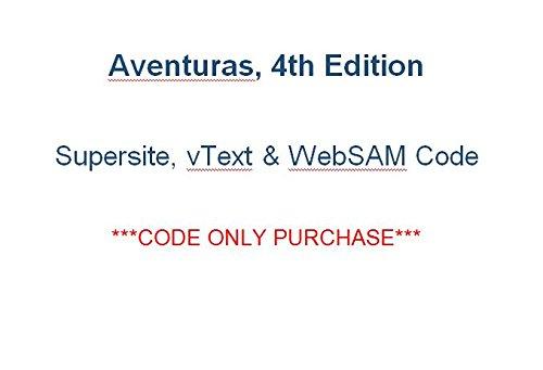 Aventuras 4th bundle CODE for Supersite, vText