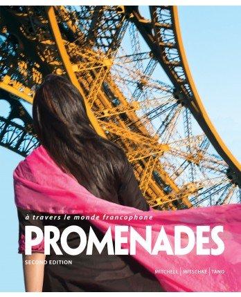 9781618571021: Promenades 2nd Bundle - Student Edition, Supersite Code & Workbook/Video Manual (2014 edition)