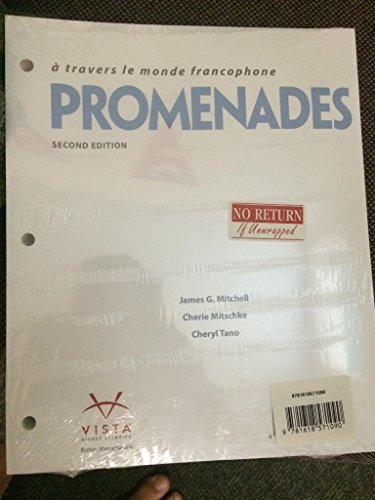 9781618571090: Promenades 2nd Looseleaf Textbook with Supersite Plus Code (Supersite and vText)