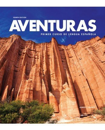 9781618571403: Aventuras 4th Edition, Looseleaf Textbook with Supersite Code