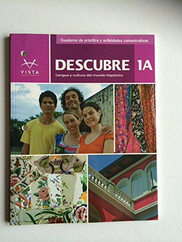 9781618572141: Descubre 1A 2014 Cuaderno de práctica y actividades comunicativas