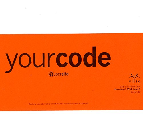 Descubre 2014 Level 2 SUPERSITE CODE ***CODE ONLY***