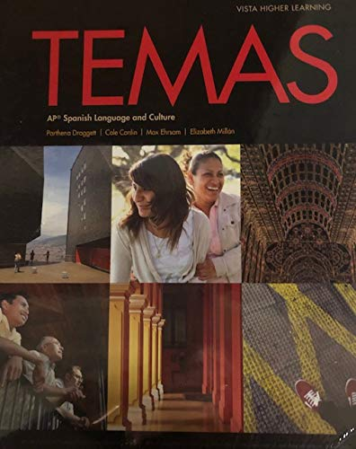 Temas Student Edition with Supersite Code -