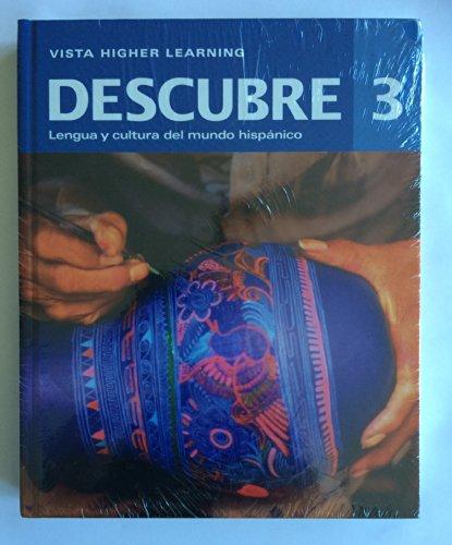 Descubre 2014, Level 3 Bundle - Student Edition, Supersite Code, Cuaderno de Practica & ...