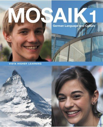 9781618573575: Mosaik Level 1 Student Edition w/ Supersite, vText and WebSAM Code (2014)
