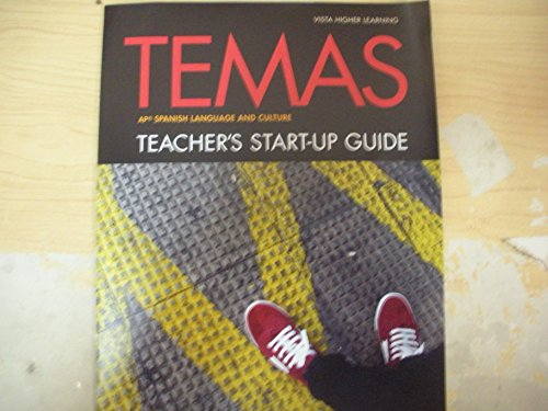 9781618574022: Temas AP Spanish Language and Culture Teacher's Start-up Guide