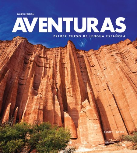 9781618576606: Aventuras 4th Loose-leaf Edition with Supersite PLUS Code and webSAM Code (Aventuras)
