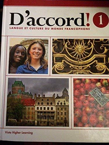 9781618578631: Daccord 2015 Level 1 Student Edition