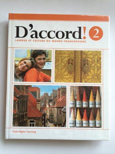 9781618578648: Daccord 2015 Level 2 Student Edition