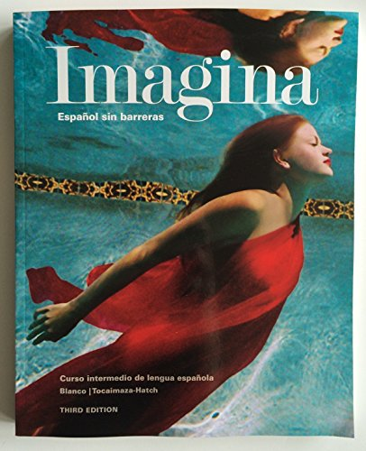 9781618578891: Imagina, 3rd Edition, Student Edition with Supersite Code