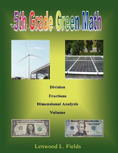 5th Grade Green Math: Lenwood L. Fields