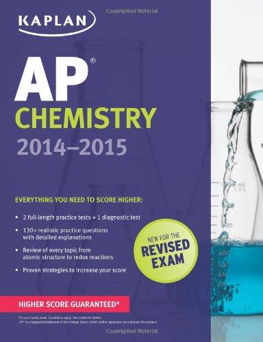 9781618652478: Kaplan AP Chemistry 2014-2015 (Kaplan AP Series)
