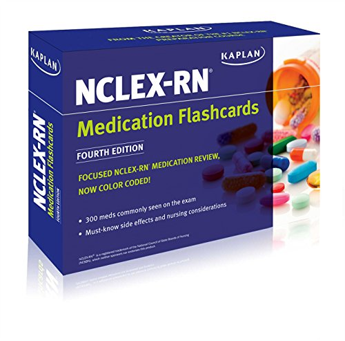 NCLEX-RN Medication Flashcards: Kaplan